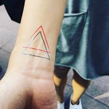 what is the meaning behind the double triangle symbol symbols
