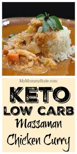 keto low carb chicken curry my mommy style