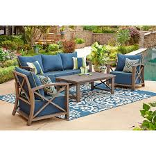 2 Chairs And Table Patio Set 5 Piece Teak Conversation Set Sams Club Patio Furniture Solid Teak