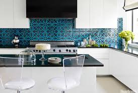 tile kitchen countertop designs black granite countertops with contemporary kitchen design and