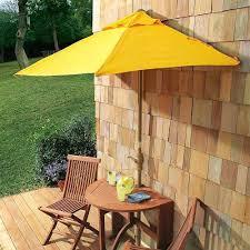 Half Umbrella Patio Amazing Patio Half Umbrella For 86 Patio Umbrella