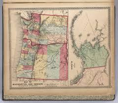 Map Of Oregon And Washington by Oregon Territory Map Moonboatcafe Map Of The Oregon Territory