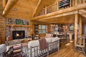 a frame home interiors log cabin decorating ideas modern simple but beautiful log cabin