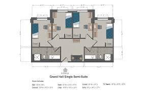 Single Room House Plans Grand Hall Slu