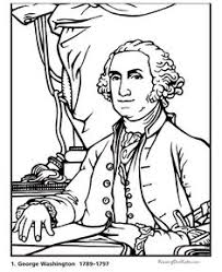 Free Printable Coloring Pages Of Us Presidents | us presidents coloring pages coloring pages pinterest social