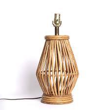 Rattan Table Lamp Lighting U2013 April In La