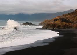black sand beach oregon coast trnk trnk roadtrip pinterest