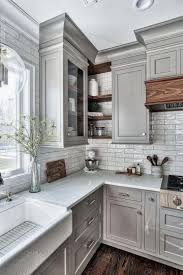 ideas for grey kitchen cabinets 25 homely gray kitchen cabinets for cool cooking space