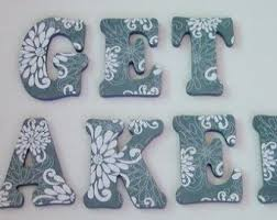 best 25 wood letters decorated ideas on pinterest decorated