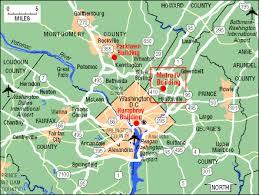 washington dc region map about nchs map