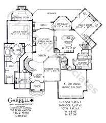 house plans floor master beau maison house plan house plans by garrell associates inc