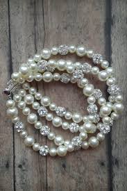 pearl bracelet designs images 3 strand pearl bracelet that goes with a wedding dress amanda png