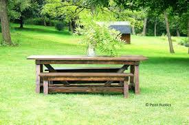 buy a handmade rustic 4 x 4 truss beam dining room table u0026 bench