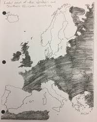 Southern Europe Blank Map by Home