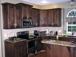 Refinish Oak Kitchen Cabinets by How To Paint Kitchen Cabinets Wood Color How To Stain Kitchen