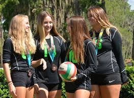 bravo ladies quartet of windermere volleyball players part of