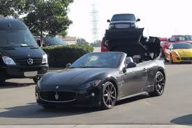 custom maserati granturismo convertible maserati granturismo convertible sport roof operation youtube