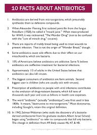 10 facts about antibiotics mildly mildly subversive that s
