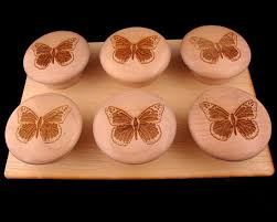 Wooden Cabinet Knobs 144 Best Butterfly Door Knobs Images On Pinterest Door Knobs