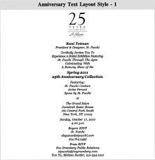 wedding anniversary program 13 25th wedding anniversary program template images vow renewal