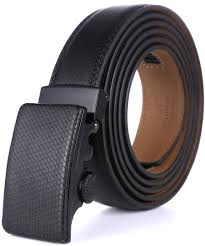 marino men u0027s genuine leather ratchet dress belt with automatic