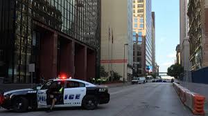 fox 4 news on dallaspd investigating suspicious package