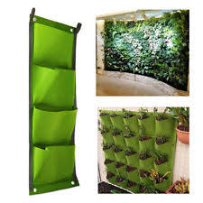 living wall planter hanging herb garden outdoor vegatable vertical