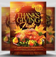 thanksgiving flyer templates for photoshop flyerheroes