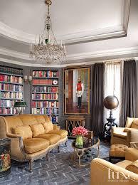 classical european home library luxe interiors design