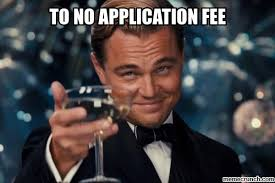Application Meme - app fee