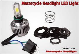 Led Light Bulbs For Headlights by Amazon Com Yitamotor H4 Cob Led Bulb Hid White 360 Hi Low Beam