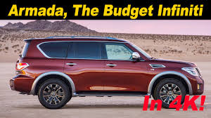 nissan armada 2017 2017 nissan armada first drive review in 4k uhd youtube