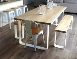 Tables With Bench Seating Kitchen Awesome Dining Room Tables With Bench Seats 34 Additional