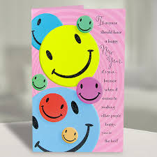 new year greeting cards smileys new year greeting card at best prices in india