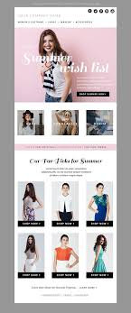 fashion e shop summer fashion e mail newsletter template psd by jannalynncreative