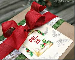 christmas gift packages kraft paper wrapped package christmas gift wrap ideas hop