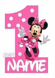 minnie mouse birthday iron on transfer sticker minnie mouse birthday 1st 2nd 3rd t