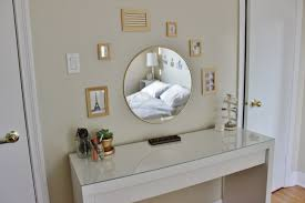 Ikea Vanity Table by Bedroom Elegant Silver Vanity Set Ikea With Three Drawers And