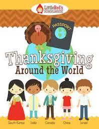 thanksgiving around the world interactive packet canada around