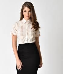 vintage blouse unique vintage chiffon button up sleeve colvin blouse