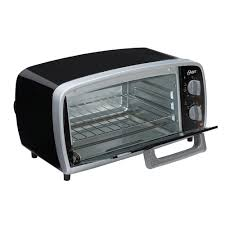 Best Four Slice Toasters Oster 4 Slice Black Toaster Oven Tssttvvg01 The Home Depot