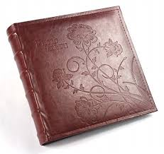 leather bound scrapbook book bound leather album