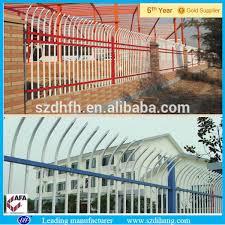 tubular iron fence garden fence iron wire mesh ornamental iron