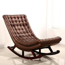 Modern Rocking Chair For Nursery Modern Rocker Chair European Woven Rope Mid Century Modern Rocking