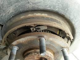 nissan titan rear bumper replacement parking brake shoe replacement actuator issue nissan titan forum