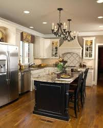 kitchen with center island white kitchen with black island bench center top subscribed me