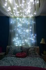 add some string lights to create an whimsical effect diy
