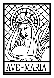 66 catholic coloring pages images coloring