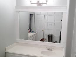 framing bathroom mirrors with crown molding beginners guide framing a bathroom mirror bathroom decor ideas