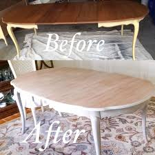 how to whitewash a dining room table with chalk paint mr wilson